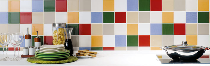 Embellir sa cuisine avec un carrelage personnalis for Carrelage 15x15 couleur