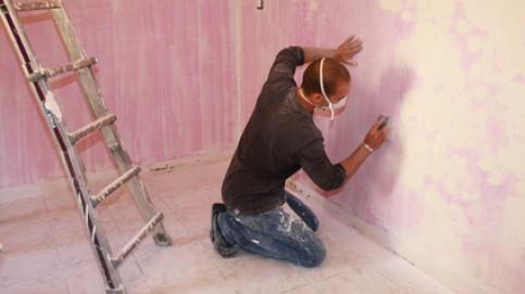repeindre un mur d j peint les conseils. Black Bedroom Furniture Sets. Home Design Ideas